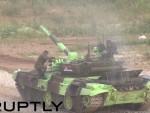 ИЗА РУСИЈЕ И КИНЕ: Србија трећа на Тенковском биатлону, имали пех покварио се тенк (ВИДЕО)