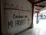 ВУКОВАР: Графити увредљиви за Србе