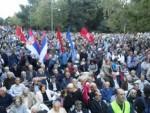 ЦРНА ГОРА: Опозиција наставила протест у Подгорици, тражи фер изборе