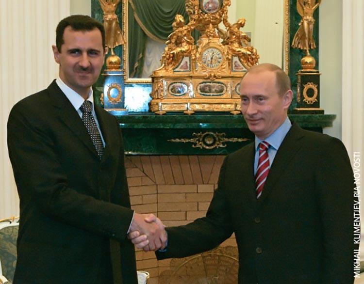 Asad i Putin