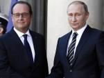 ПАРИЗ: Оланд и Путин разговарали о Сирији