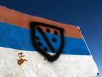 ФОЧА: Оскрнављена застава Српске на врху Маглића