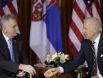 НИКОЛИЋ: Бајден разуме став Србије о НАТО-у