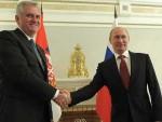 БЕОГРАД: Путин позвао Николића у Русију