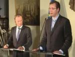 ВУЧИЋ: Ако Словенија, Хрватска и Мађарска не примају економске мигранте, неће ни Србија