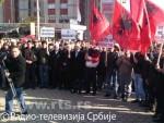 КИМ: Протест Албанаца у Дечанима