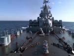 """ТЕЛЕВИЗИЈА """"ЗВЕЗДА"""": Амерички разарач прати крстарицу """"Москва"""""""