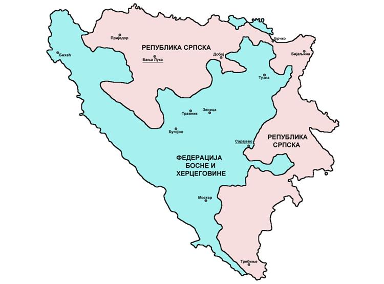 BiH Kantoni
