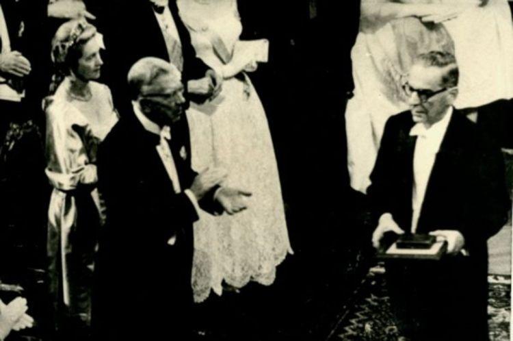 Ivo Andric dodela Nobelove nagrade