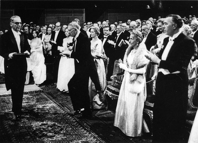 Ivo Andric dodela Nobelove nagrade1