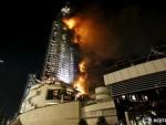 """ДУБАИ: Велики пожар у хотелу """"Адрес"""" током дочека Нове године"""
