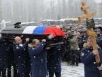 ПОЧАСНИ ПЛОТУНИ И ХИМНА РУСИЈЕ: У Липецку сахрањен Херој Русије Олег Пешков
