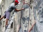 ПОРЕД ХЕМИНГВЕЈА: Лик Иве Андрића на муралу у Хавани