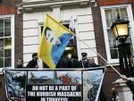 ЛОНДОН: Курди блокирали сједиште Камеронове партије