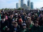 ГРОЗНИ: Скоро милион људи на митингу подршке Кадирову и Путину