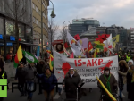 ПРОТЕСТ У БЕРЛИНУ: Немци против Ердоганове политике према Курдима