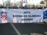 """ЗАГРЕБ: """"За дом спремни"""" на протесту ветерана"""