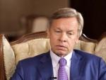 """ПУШКОВ: Изјаве НАТО-а о сарадњи са Русијом личе на """"смоквин лист"""""""