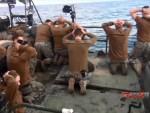 МАРИНЦИ СА РУКАМА УВИС: Иран обjавио снимак извињења америчког морнара