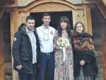 СВАДБА НА КУСТЕНДОРФУ: Двоје новинара венчали се у цркви Светог Саве на Мећавнику, Дуња Кустурица кума