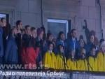 ТАКО СЕ БРАНЕ БОЈЕ СВОЈЕ ДРЖАВЕ: Србија поздравља европске шампионе