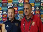 БЕОГРАД: Србиjа против Русиjе за финале и прву медаљу у историjи