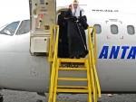 ПУКЛО СТАКЛО НА КАБИНИ: Ризичан лет патријарха Кирила за Антарктик