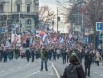 """АНТИ-НАТО ПРОТЕСТ У НИШУ: """"Када закон постане неправда, отпор је наша дужност"""""""