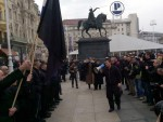 ХРВАТСКА: Црнокошуљаши парадирали Загребом