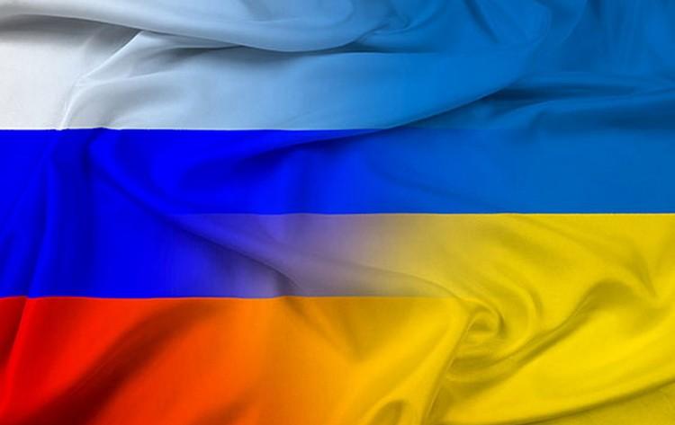 Rusija i Ukrajina zastave