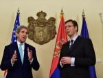 БЕОГРАД: Вучић и Kери разговарали о убиству српских дипломата