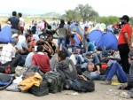 СКОПЉЕ: Македонија затворила границу за мигранте