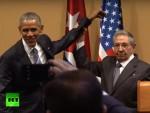 ХАВАНА: Кастро није дозволио Обами да га потапше по рамену