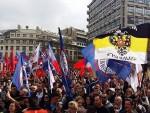 """ПРОТЕСТ ПРОТИВ НАТО–А: """"За слободну и суверену Србију!"""""""