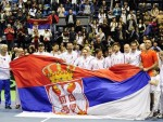 ВИКТОР НА КРИЛИМА НОВАКА: Tроицки одвео Србиjу у четвртфинале Деjвис купа