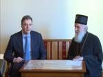ВУЧИЋ КОД ПАТРИЈАРХА ИРИНЕЈА: Србиjа не може да дозволи угрожавање постоjања и опстанка Републике Српске