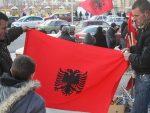 ЦРНА ГОРА: Запаљене заставе Косова и Албаније