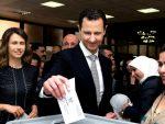 СИРИЈА: Асад са супругом гласао на изборима
