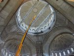 БЕОГРАД: Почели радови на изради мозаика у храму Светог Саве