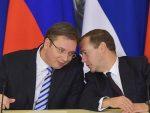 МЕДВЕДЕВ ВУЧИЋУ: Грађани подржали јачање партнерства са Русијом