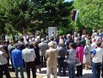 КОЊИЦ: У Брадини служен парастос за невине српске жртве