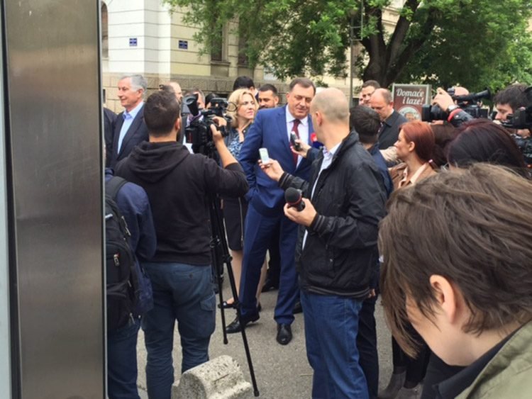 Dodik na mitingu