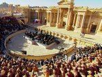 ПОБЕДА НАД ЗЛОМ: Руски симфонијски оркестар наступа у сириjскоj Палмири