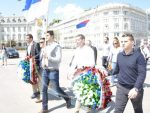 БЕЧ: Срби положили венац на споменик руским борцима