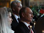 ПУТИН ЧЕСТИТАО ВАСКРС РУСИМА: Уједињени око непролазних вредности православља