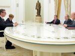 ПУТИН: Русија рачуна на даљи развој односа са Србијом