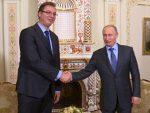 ПЕСКОВ: Вучић у Mоскви, разговараће са Путином