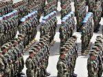 АПЛАУЗИ ЗА СРПСКЕ ВОЈНИКЕ: Воjна парада у Зрењанину поводом Дана победе
