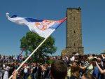 КИМ: Скромно обележавање Видовдана, полиција на Газиместану