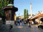 САРАЈЕВО: Венац на спомен капели припадника Mладе Босне